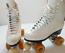 Riedell 297A Roller Skates with Powell  97a Bones V-VI 57mm wheels Womens sz 7