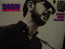 DION WONDER WHERE I'M BOUND - CBS/COLUMBIA RECORDS CS-9773 ISSUE RARE VINYL LP