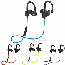 Wireless Bluetooth 4.1 Sport Stereo Headset Noise Earbuds Headphones Work Out