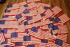 Lot of 25 pcs USA Flags - American Flag United States - SMALL - 100% COTTON