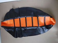 FLU PRO RIBBED GRIPPER SEAT COVER TEAM KTM SX SXF  EXC MXC XC XCF 2007-10