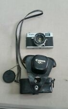 CANON Canonet QL19 Rangefinder Camera with original leather case. works great!