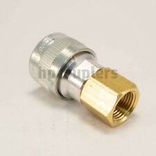 "Schrader - Twist Lock Quick Coupler Air Hose Connector Fittings 3/8"" NPT"