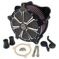 Contrast Cut Air Cleaner Intake Filter For Harley Touring FLHT FLTR FLHX 08-16
