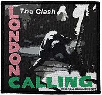 The Clash London Calling iron on/sew on cloth patch (rz)