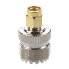 Hot Sale UHF SO-239 SO239 Female to SMA Male Plug Connector Coaxial Adapter DI