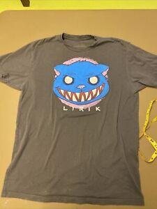 Lirik size Large Twitch Gaming gamer t shirt