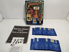 INDIANA JONES AND THE FATE OF ATLANTIS THE GRAPHIC ADVENTURE Amiga lucasarts big