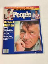 AUG 20 1984 PEOPLE Magazine - RICHARD BURTON, PRINCE, MARY LOU RETTON NO LABEL