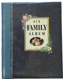 OUR FAMILY ALBUM - A Treasury of Family Memories Hardback Scrapbook GIFT New