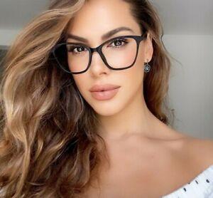 Cat Eye Oversized MISS JOLENE Clear Lens Eyeglasses Glasses SHADZ Fashion