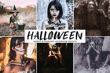 Lightroom Presets Halloween Mobile & Desktop for Adobe Premium Software