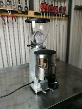 More details for mazzer mini commercial professional coffee bean grinder tamper  with new hopper