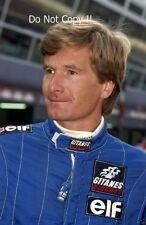 THIERRY BOUTSEN LIGIER F1 Ritratto Fotografia 1992