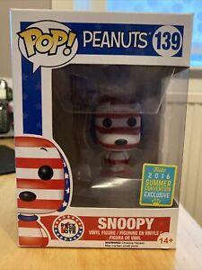 Funko POP! Snoopy #139 Rock the Vote 2016 Summer Con Exclusive Vinyl Figure