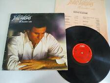 "Julio iglesias Un Hombre, Solo VG/VG Spain 1987 - LP Vinili 12 "" VG/VG 2T"