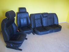 BMW  Sitze Beifahrersitz Fahrersitz Rücksitzbank Leder schwarz komplett