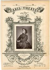 Lemercier, Paris-Théâtre, Célestine Galli-Marié (1837-1905), mezzo-soprano franç