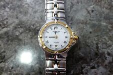 RAYMOND WEIL PARSIFAL 9990 WOMENS TWO TONE 18CT GOLD PLATED WATCH, RRP NEW £799