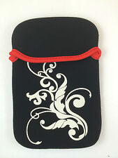 "FUNDA DE NEOPRENO CON DIBUJO DE 7"" PULGADAS PARA TABLET EBOOK COLOR NEGRO"