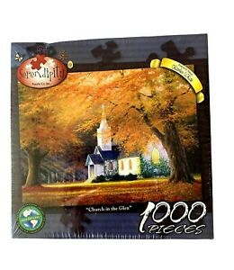 Church In The Glen 1000 Piece Puzzle By Serendipity Made In USA
