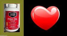 Fish Oil 1000mg w/ Omega 3, 300 Softgels-berkley & Jensen