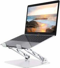 Laptop Stand Ergonomic Adjustable Laptop Holder Computer Tablet Riser Silver
