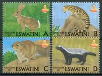 Swaziland Eswatini Wild Animals Stamps 2018 MNH Mammals Genets Badgers 4v Set