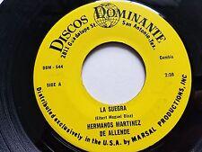 """HERMANOS MARTINEZ de ALLENDE - La Suegra / Los Taxistas LATIN CUMBIA Tropical 7"""""""