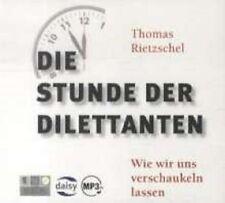 Die Stunde der Dilettanten - Neu & OVP - 1 MP3-CD - Hörbuch - inkl. DAISY Format