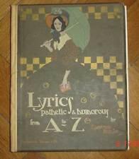 Edmund Dulac, ABC libri, a B C, ABC, periodico illustrato libri, arte,