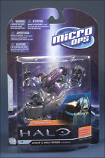 McFarland Toys 2012 Halo Micro Ops Series 1 Ghost Vs. Wolf Spider with Emile