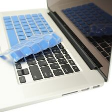 """BLUE Silicone Keyboard Cover for NEW Macbook Pro 13"""" A1425  with Retina display"""