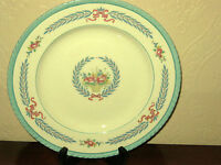 """Vintage Crown Ducal Cambridge Pattern 10"""" Dinner Plate Made in England"""