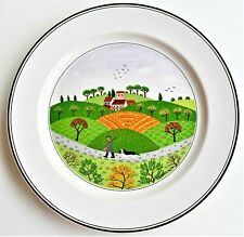 Villeroy & Boch Design Naif Plate Hunter & Dog in Country Round Dish 27cm wide