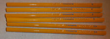 Vintage ,lot of 6 Dixon's Typhonite Eldorado Unused Pencils F, B and 6H