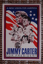Jimmy Carter For President campaign poster 1976 #1