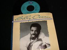 """BILLY OCEAN<>THE COLOUR OF LOVE<>45 Rpm,7"""" Vinyl ~Canada Pressing~JIVE JS1-9707"""