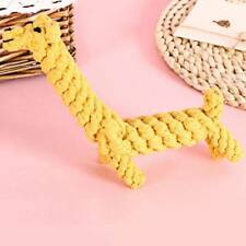 Pet Kont Braided Rope Dog Toys Bite Resistant Cartoon Animal Puppy Chew Toy h