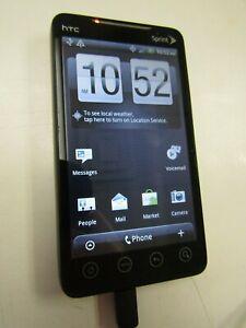 HTC EVO 4G, (SPRINT), CLEAN ESN, WORKS, PLEASE READ! 43596