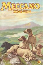 1946 AUGUST 33579  Meccano Magazine Cover Picture  A SPORTING PARTY
