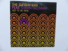 CD Single THE SUNSHINDERS feat DAWN TALLMAN Got to be real 3475000170515