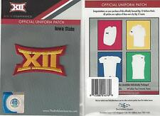 Iowa State Big 12 Conference Jersey Uniform Patch 100% Official Football Logo