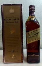 🌐 Johnnie Walker 18 years Gold Label  Centenary Blend etichetta oro collezione