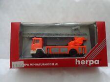 H0 1/87 Herpa 042758-Man M90 Cabezal Giratorio bomberos Camión-en Caja