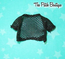 MONSTER HIGH PICTURE DAY LAGOONA BLUE DOLL REPLACEMENT BLACK MESH SHRUG SHIRT