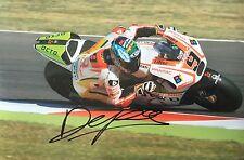 Danilo Petrucci  signed Moto GP 10x8 photo Image D UACC Registered Dealer