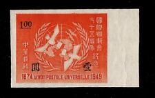 China 75Th Ann. Upu Universal Postal Union Mint Stamp Universal Postal Union Sco.