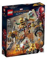 NEW LEGO MARVEL SPIDER-MAN 76128 MOLTEN MAN BATTLE MYSTERIO SET - BNIB