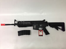 Airsoft Gun ICS M4 S-System AEG Full Metal Gearbox Electric Auto Sportline